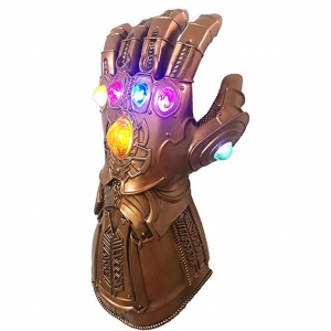 thanos led light up gauntlet