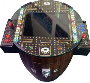 classic barrel arcade machine by secret level arcades