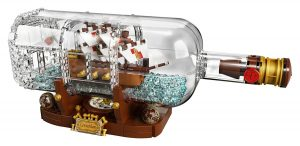 lego ideas ship in a bottle 21313