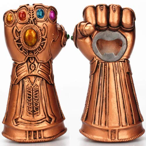 marvel thanos gauntlet bottle opener