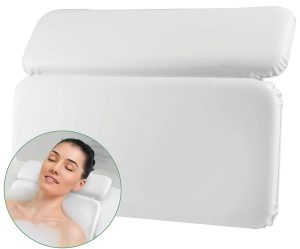 spa bath pillow 2 panel