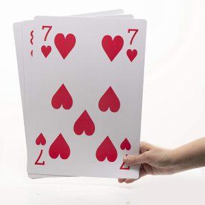 jumbo playing cards full deck huge oversized big deck