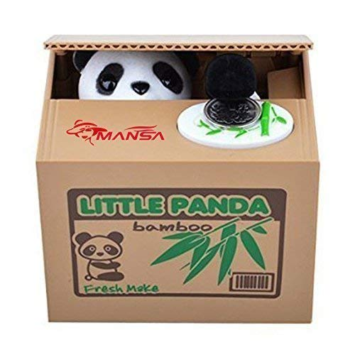 coin stealing panda bank piggy bank