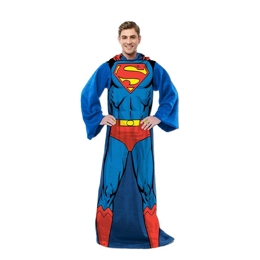 superman adult blanket throw